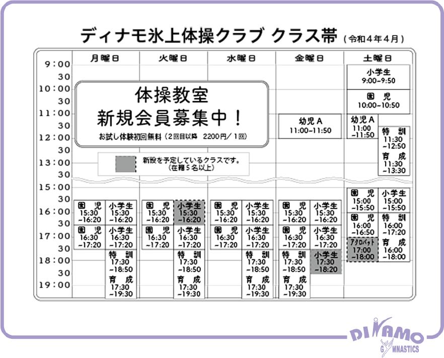 2020年からのスケジュール